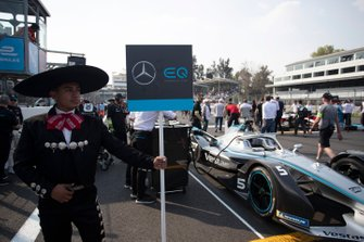 Stoffel Vandoorne's, Mercedes Benz EQ, EQ Silver Arrow 01 on the grid