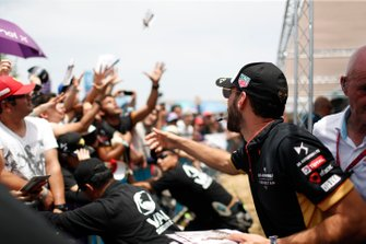 Jean-Eric Vergne, DS Techeetah signs autographs for fans