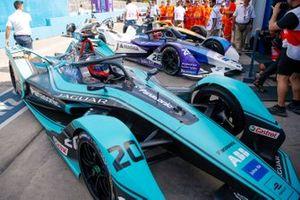 Podio: tercer lugar Mitch Evans, Jaguar Racing