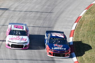 William Byron, Hendrick Motorsports, Chevrolet Camaro Liberty University, B.J. McLeod, Petty Ware Racing, Ford Mustang JACOB COMPANIES