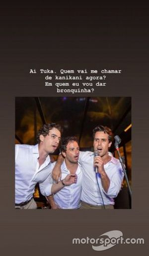 Marina Ruy Barbosa presta homenagem a Tuka Rocha no Instagram