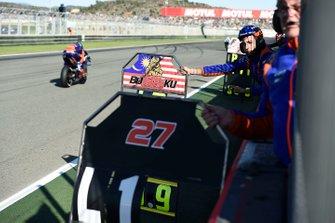 La tabella di Hafizh Syahrin, Red Bull KTM Tech 3