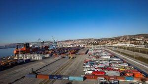 L'embarquement à Marseille, France