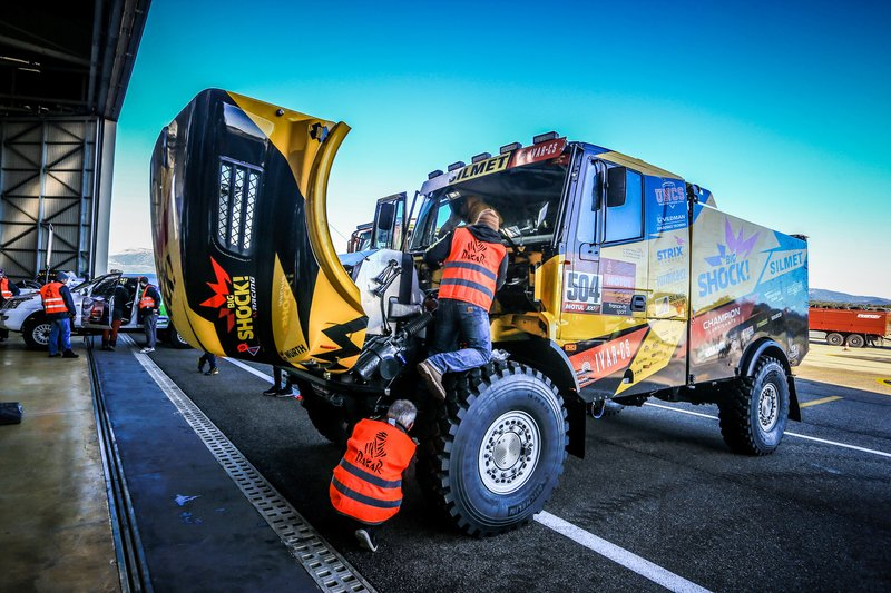 Big Shock Racing Iveco en Paul Ricard