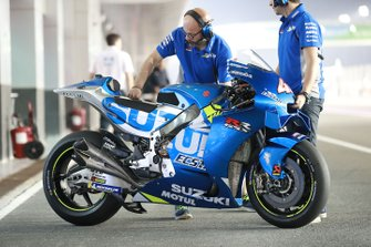 Motor van Alex Rins, Team Suzuki MotoGP
