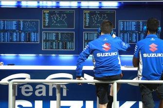 Team Suzuki MotoGP technici