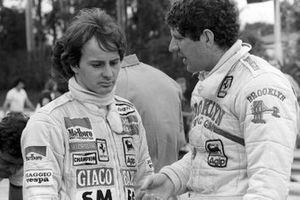 Пилоты Ferrari Жиль Вильнев и Джоди Шектер