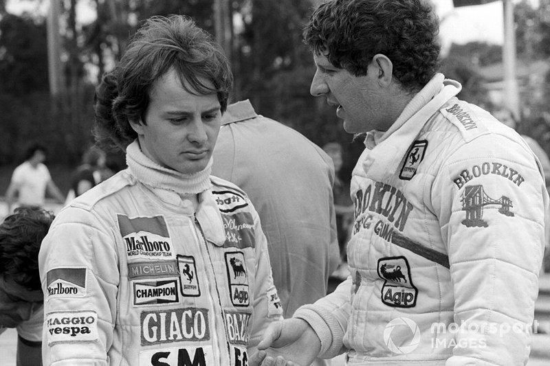 Gilles Villeneuve, Ferrari, Jody Scheckter, Ferrari, al GP del Brasile del 1980