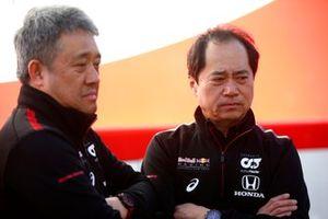 Генеральный менеджер Honda Motorsport Масаси Ямамото и технический директор Honda Тойохару Танабе