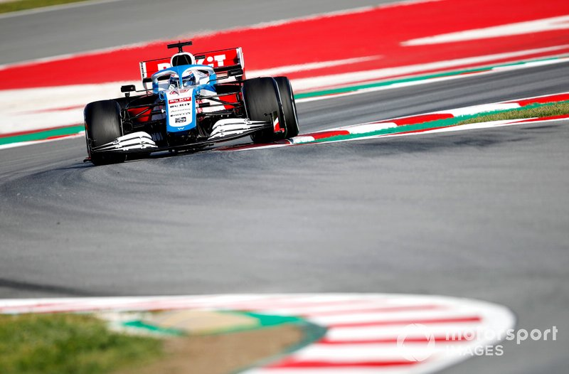17º Nicholas Latifi, Williams FW43: 1:17.313 (con neumáticos C4)