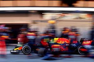 Пит-стоп: Александр Элбон, Red Bull Racing RB16