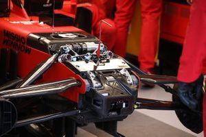 Suspensión delantera del Ferrari SF1000