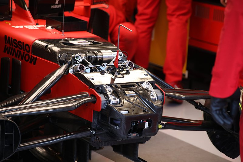 Ferrari SF1000 front suspension