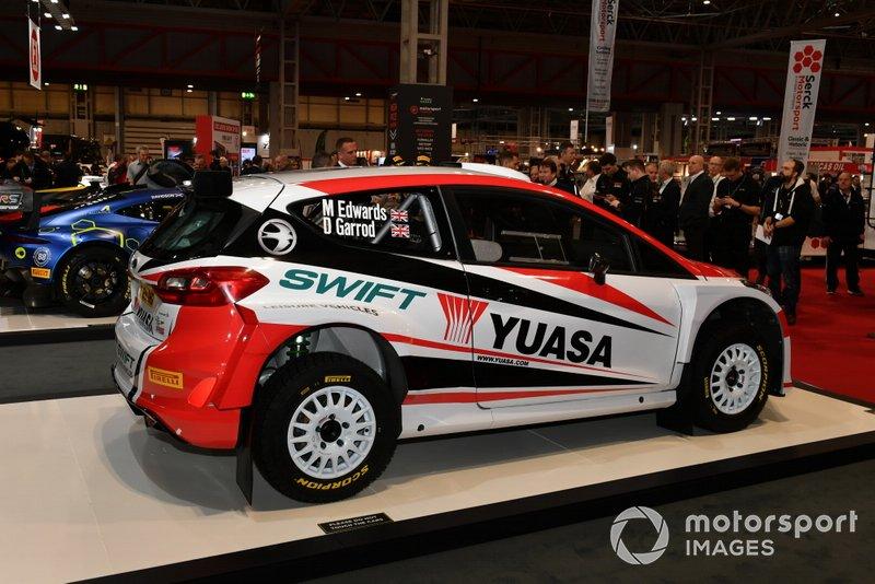 Pirelli Rally tyre launch