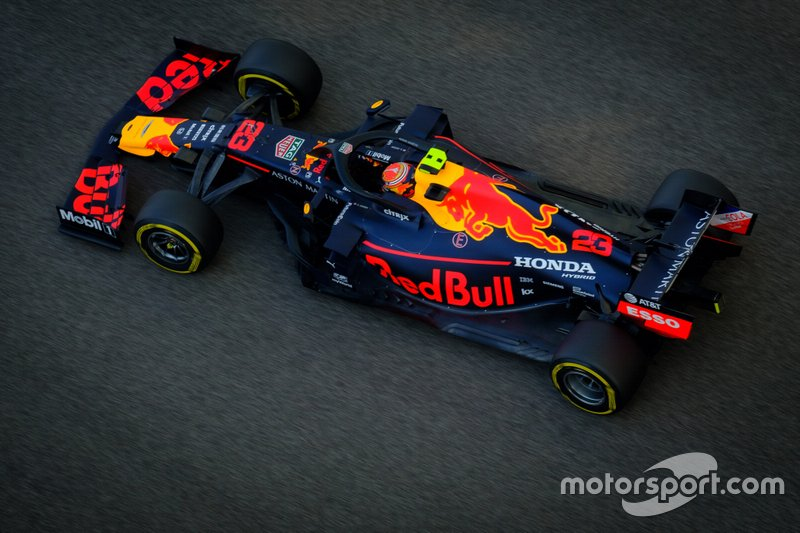 Alex Albon, Red Bull Racing RB15
