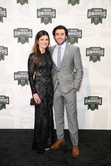 Chase Elliott and Kaylie Green