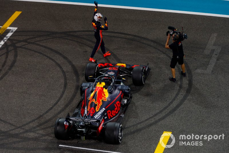 Max Verstappen, Red Bull Racing, secondo classificato
