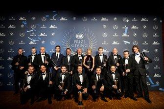 Ganadores en la Gala de la FIA