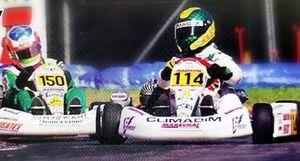 Ruben Carrapatoso campeão mundial de kart de 1998