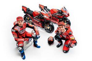 Andrea Dovizioso, Danilo Petrucci, Ducati Team