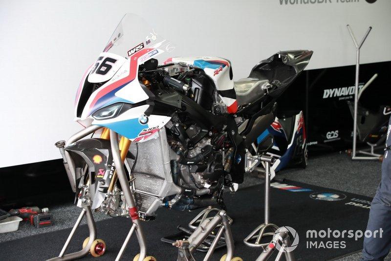 La moto de Tom Sykes, BMW Motorrad WorldSBK Team