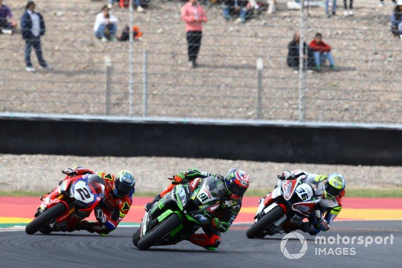 Leon Haslam, Kawasaki Racing Team, Leon Camier, Honda WSBK Team, Leandro Mercado, Orelac Racing Team