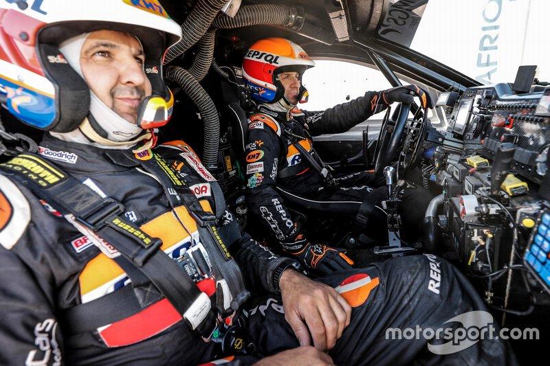 Isidre Esteve, Txema Villalobos, Repsol Rally Team
