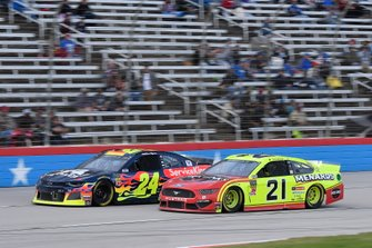 William Byron, Hendrick Motorsports, Chevrolet Camaro Axalta, Paul Menard, Wood Brothers Racing, Ford Mustang Menards / Jack Links