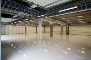 Vista interna de los nuevos garajes de Interlagos