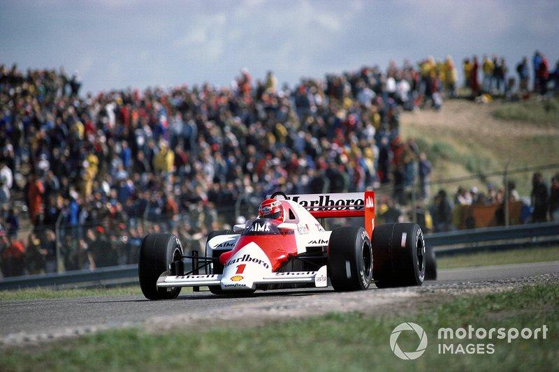 Zandvoort 1985: Niki Lauda wint de laatste Dutch Grand Prix