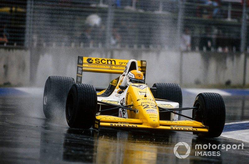 Пьерлуиджи Мартини, Minardi M189 Ford