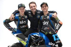 Celestino Vietti, Andrea Migno, Pablo Nieto, Sky Racing Team VR46
