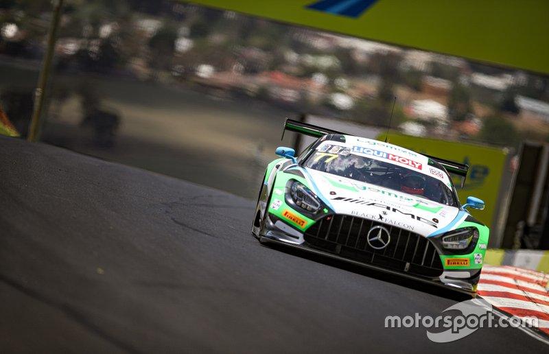 #77 Mercedes-AMG Team Craft-Bamboo Black Falcon Mercedes AMG GT3: Maro Engel, Luca Stolz, Yelmer Buurman
