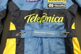 Alpinestars fire suit of Fernando Alonso