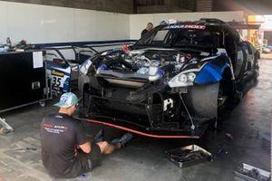 Автомобиль Nissan GTR Nismo GT3 (№35) команды KCMG