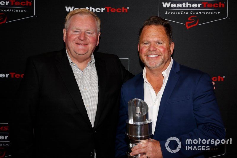 #86 Meyer Shank Racing w/ Curb-Agajanian Acura NSX GT3, GTD: Jim Meyer, Michael Shank, GTD Champions