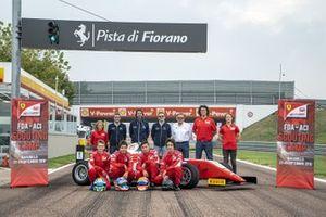 Foto di gruppo con Dino Beganovic, Pepe Martì, Francesco Pizzi e Gabriele Minì