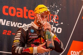 Podium: race winner Shane van Gisbergen, Triple Eight Race Engineering