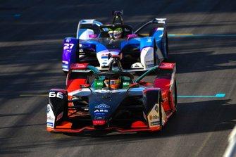 Daniel Abt, Audi Sport ABT Schaeffler, Audi e-tron FE06 Alexander Sims, BMW I Andretti Motorsports, BMW iFE.20