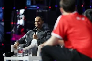 GT World Finals with Lewis Hamilton