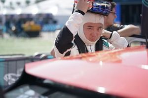 Sun Chao, Jaguar China Racing on the grid