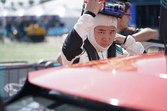 Sun Chao, Jaguar China Racing sulla griglia