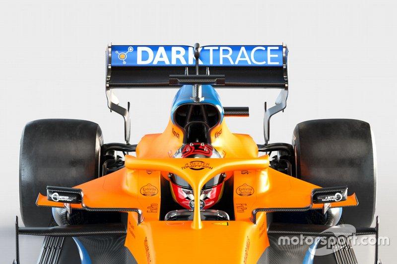 McLaren MCL35 detalle