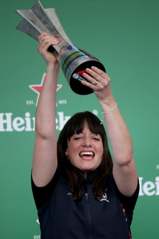 Подиум: стратег Red Bull Racing Ханна Шмитц