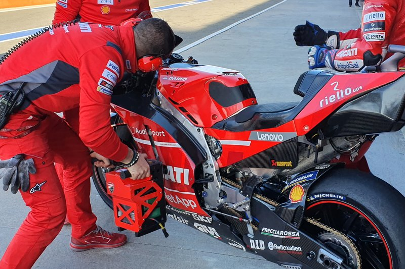 Ducati Team bike