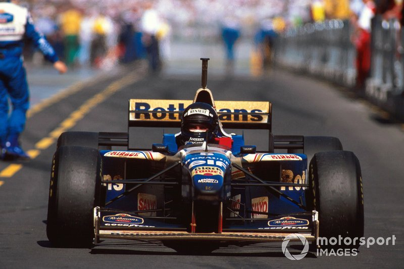 Ganador Damon Hill, Williams FW18 Renault