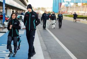 Jamie Chadwick, Rookie Test Driver for Panasonic Jaguar Racing