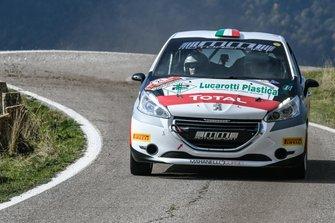 Giacomo Guglielmini, Simone Giorgio, Peugeot 208, Maranello Corse