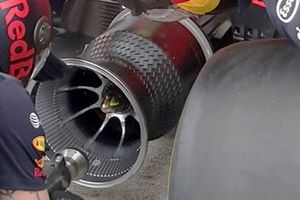 Red Bull RB15 rim detail
