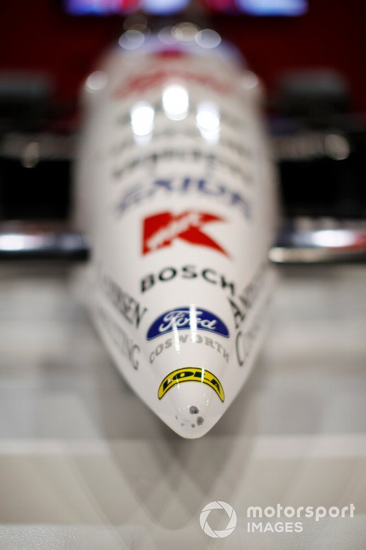 Nose detail of Nigel Mansell's Lola Indycar